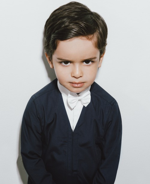 Toby Junior's latest shoot Emulates the minimalism of Tom Ford Photography