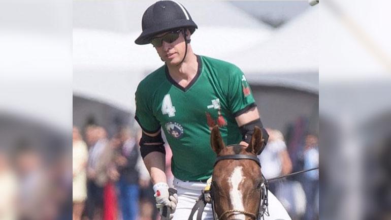 The Future King of England wears Toby Hatem Alakeel – ملك إنكلترا المقبل يرتدي تصاميم توبي من حاتم العقيل