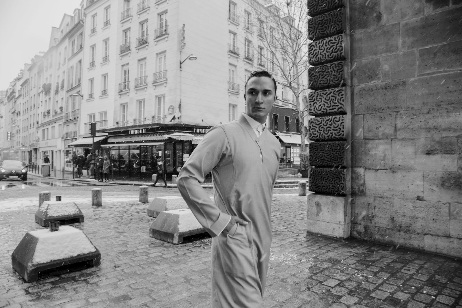 Hatem Alakeel in Paris